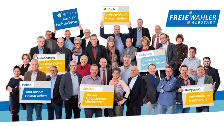 Unsere Kandidaten für die Kommunalwahlen 2019 stehen fest